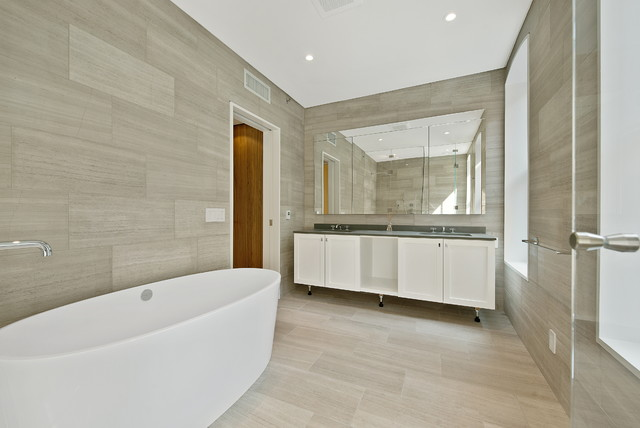 23 Downing Street contemporary-bathroom