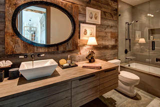 24 Woodland Ut Residence Rustic Bathroom Salt