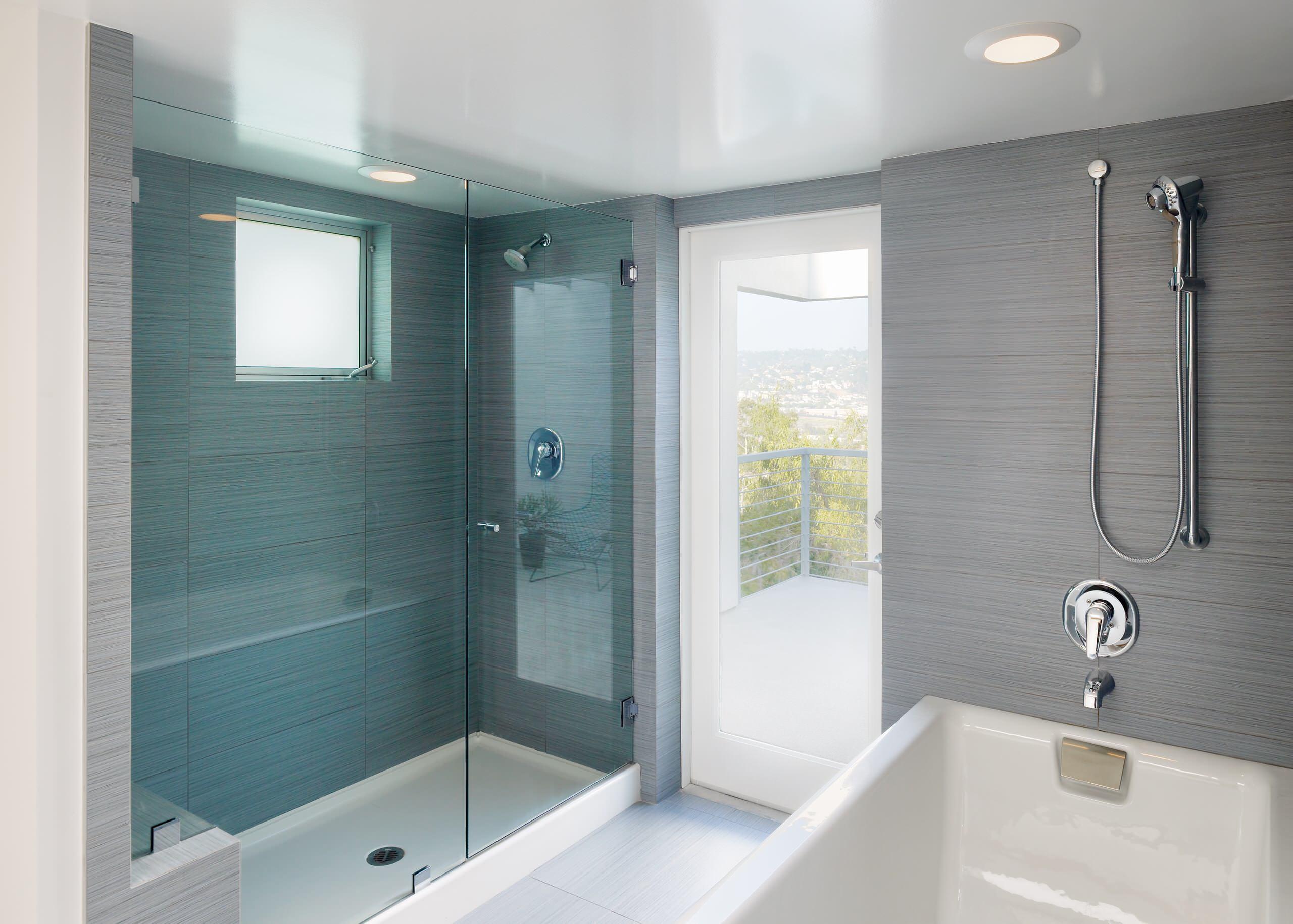 Exterior Door Bathroom Ideas  Houzz