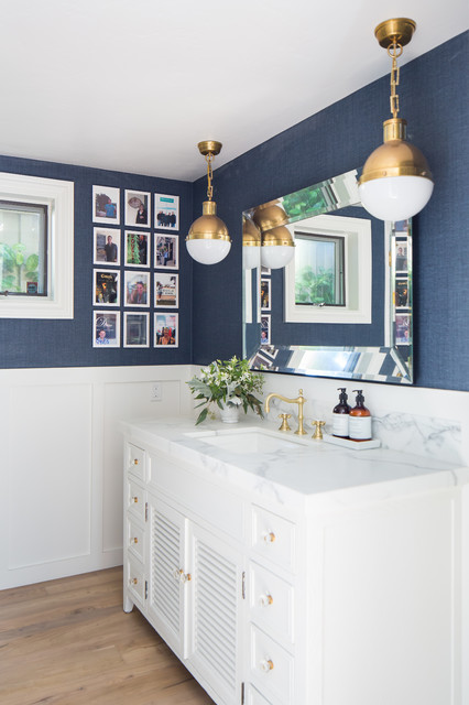 Clever Tile With A Nautical Touch