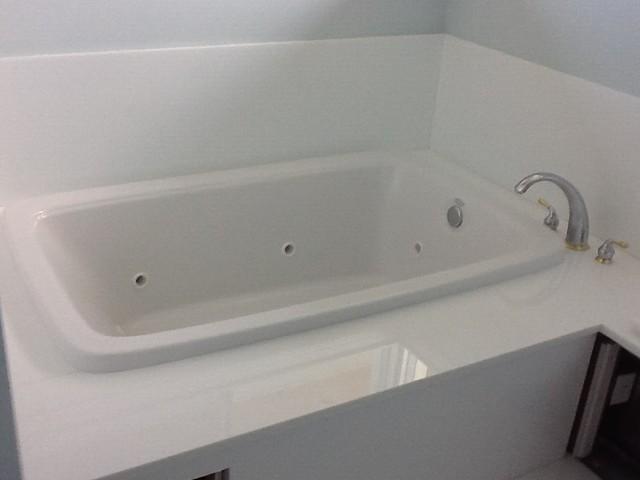 2nd Floor Addtion tropical-bathroom