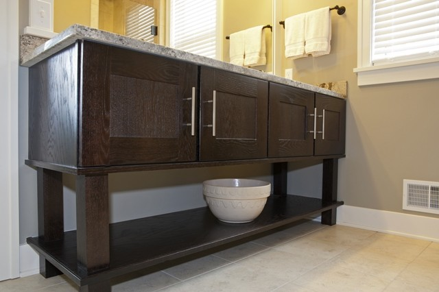 2nd Place Mid Continent Cabinetry Contest-Bathroom Design contemporary kitchen cabinets