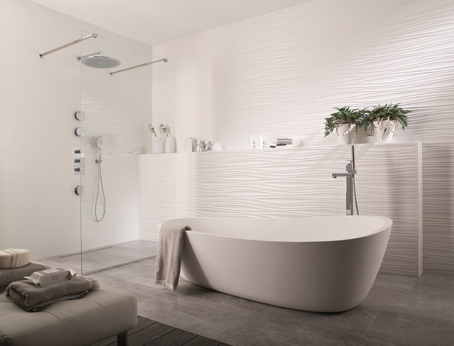 3 Dimensional Feature Tiles Oxo Line Blanco