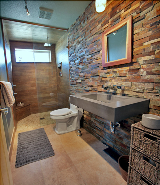 """30"""" ADA Floating Concrete Bathroom Sink - Contemporary ..."""