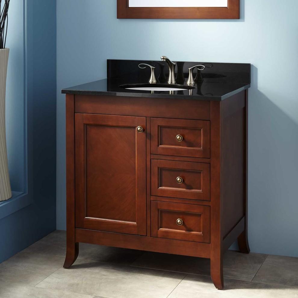 """30"""" Mayfield Vanity for Undermount Sink - Medium Cherry ..."""