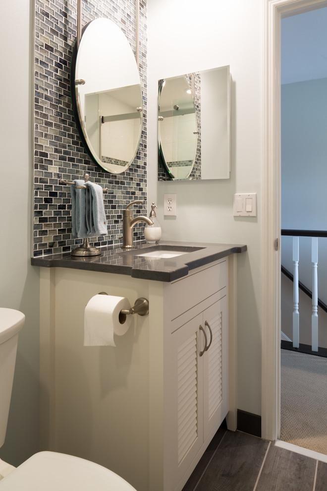30'' white inset vanity - Modern - Bathroom - Cincinnati ...