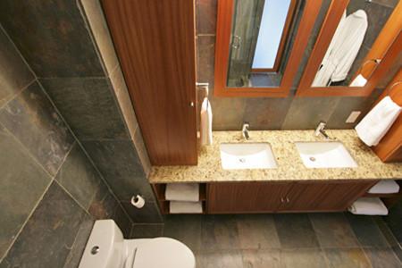 300 East 93rd Street contemporary-bathroom