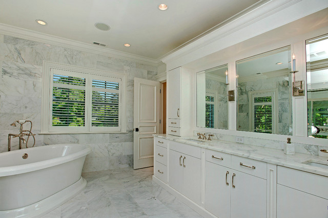 traditional bathroom by Heritage Luxury Builders