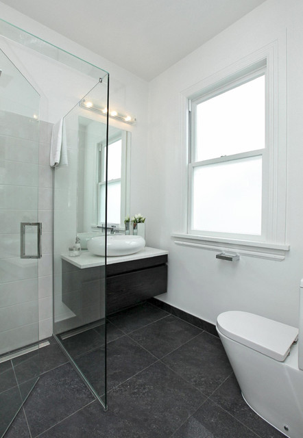 32 Rose Road Auckland Contemporary Bathroom Auckland By Tile Space New Zealand