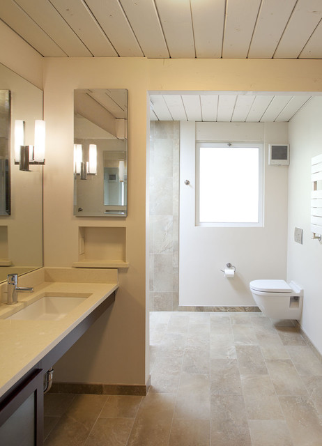 32 Small 1950s Eichler Expansion Midcentury Bathroom