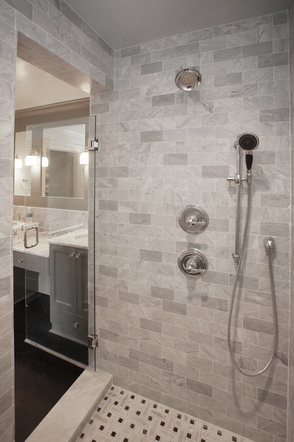 322 Queen Modern Bathroom Raleigh By Traditions In