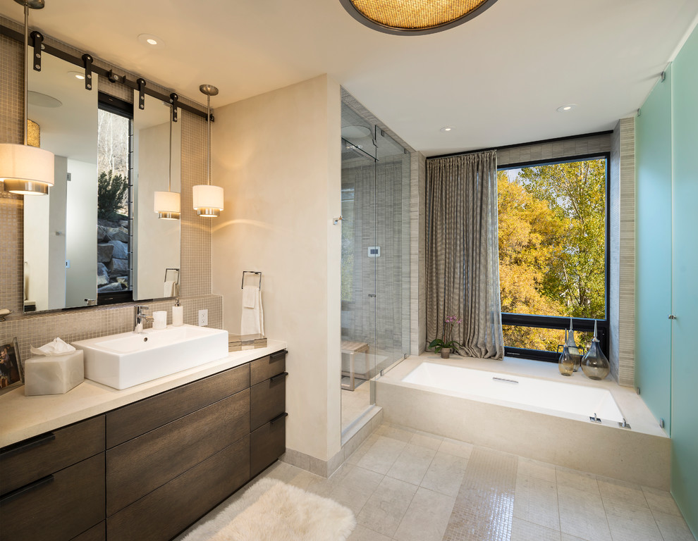 33- Park City, Utah Residence - Contemporary - Bathroom ...