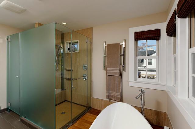 36th Place Residence modern-bathroom