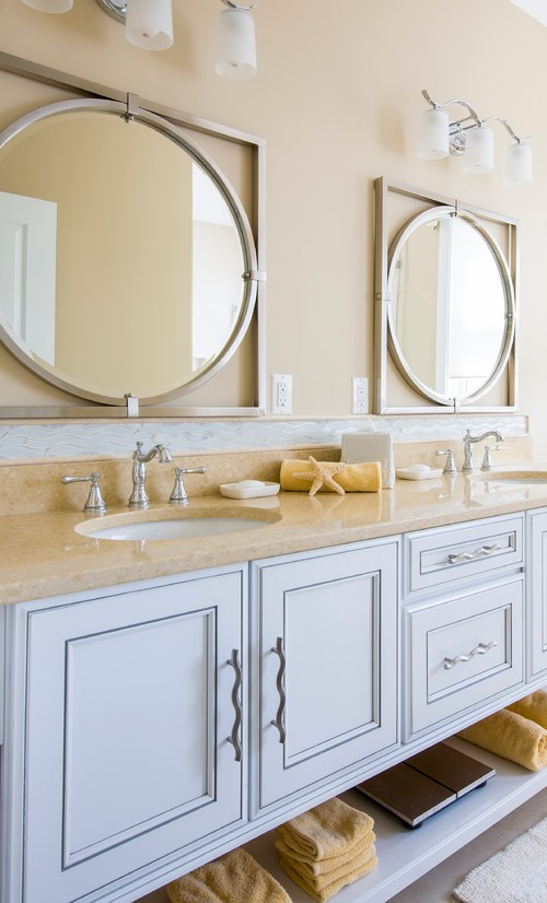 beach style bathroom mirrors mirrors 17273