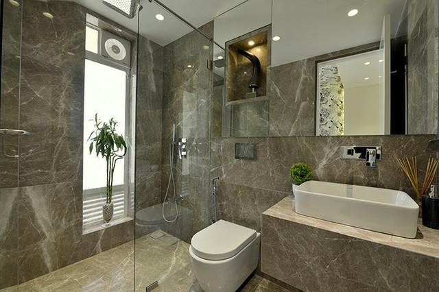 3bhk residential apartment at club bellevue borivali west for Bathroom designs mumbai