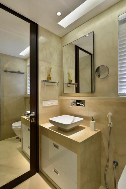 4 bedroom apartment in mumbai contemporary bathroom for Bathroom designs mumbai