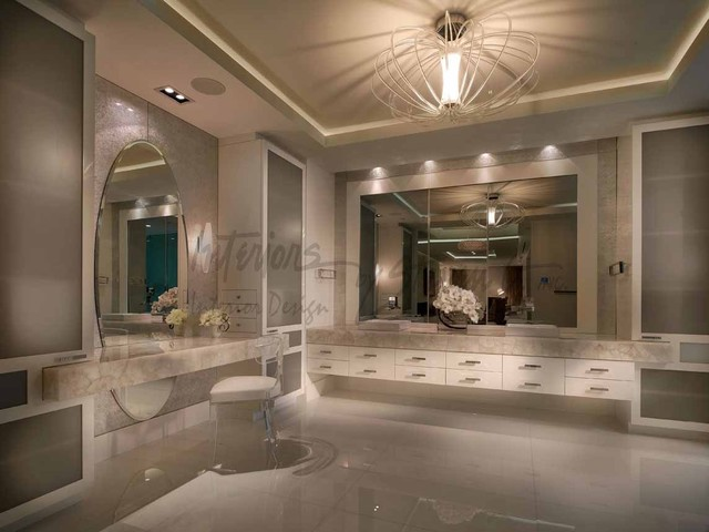 4 Story Penthouse Miami Contemporary Bathroom Miami