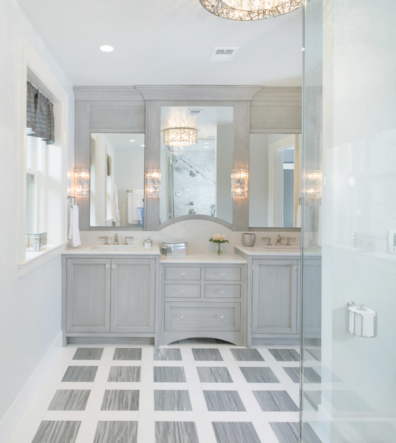 Bathroom Cabinets Kansas City 45th symphony designer's showhouse - transitional - bathroom