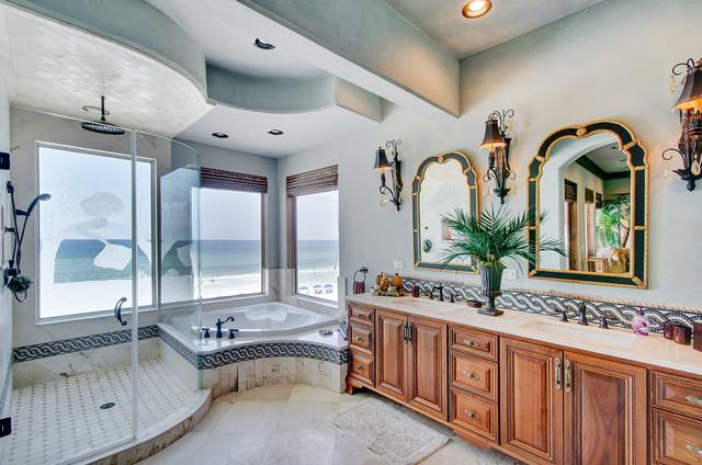 4742 Ocean Blvd Mediterranean Bathroom Miami By