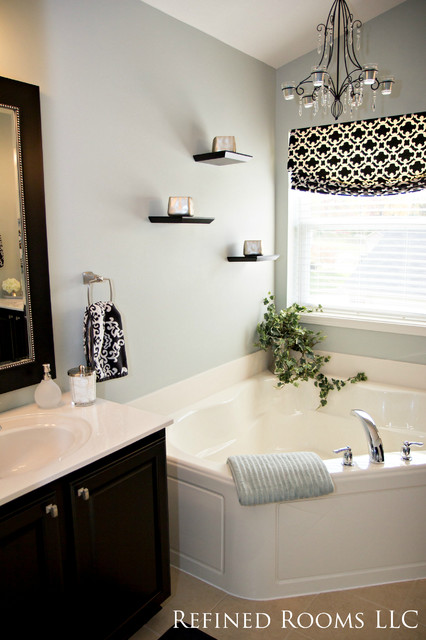 5 star hotel bathroom on a budget master bath redesign for Master bathroom on a budget