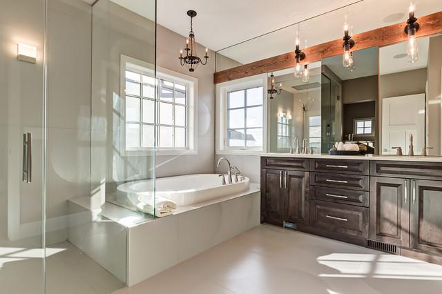55 watermark road industrial bathroom calgary by for Bathroom decor calgary