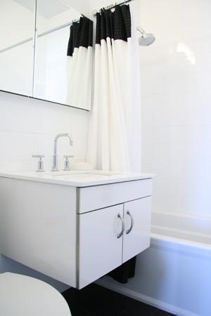 60 East 8th Avenue modern-bathroom