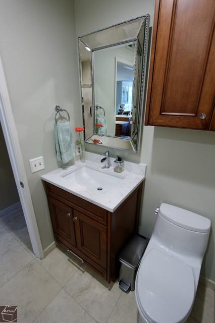 64 Anaheim Hills Kitchen Remodel With Wet Bar Powder Room