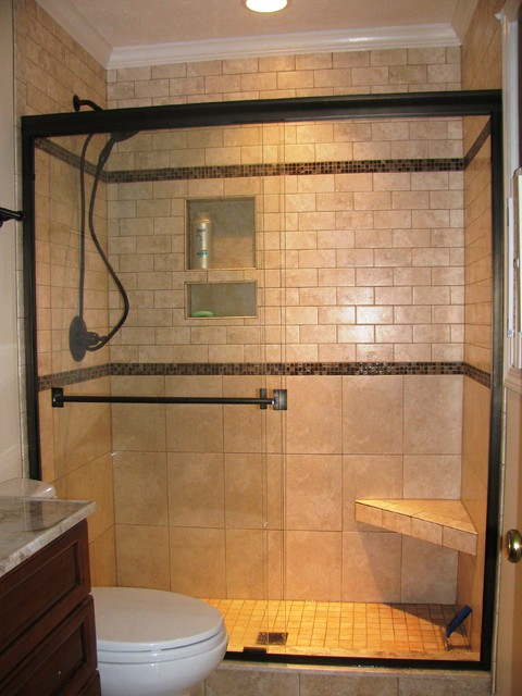 Traditional Modern Bathrooms 70's bathroom remodel - traditional - bathroom - other -modern