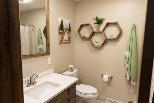 S Bathroom Remodel - 70s bathroom