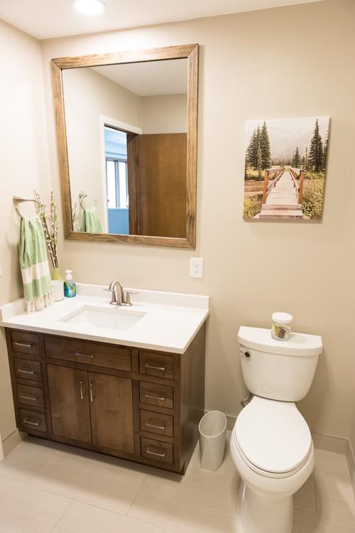 S Bathroom Remodel - 70s bathroom remodel