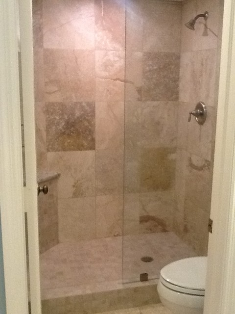 70's  condo to  family friendly get away in Naples traditional-bathroom
