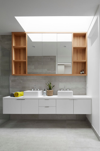 700 Haus Trentham Scandinavian Bathroom Melbourne By Glow Design Group