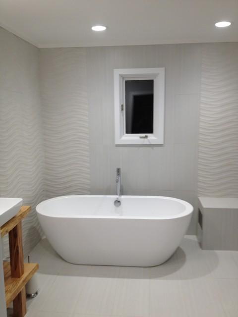 70s Master Bathroom Remodeling - Modern - Bathroom - dc metro