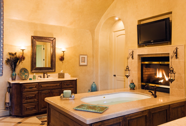 8210 Big View mediterranean bathroom