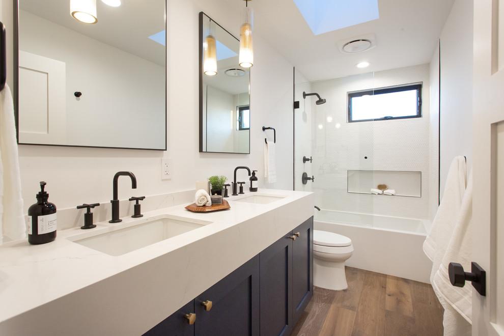 Bathroom - transitional bathroom idea in Los Angeles