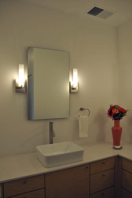 8th Street Town Home #1 contemporary-bathroom