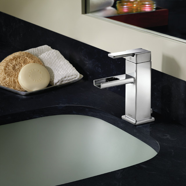 90 Degree Open Spout Faucet by Moen - Modern - Bathroom - Other ...