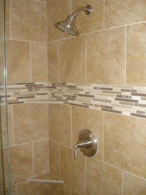 Bathroom Shower Remodeling Amazing 90's Master Bath Shower Remodel  Traditional  Bathroom  Denver . Decorating Inspiration