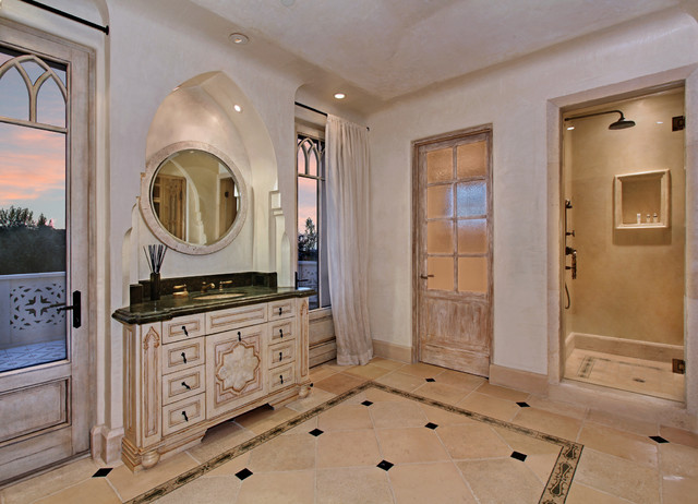 98 Canyon Creek Irvine Ca 92603 By The Canaday Group Mediterranean Bathroom Orange County