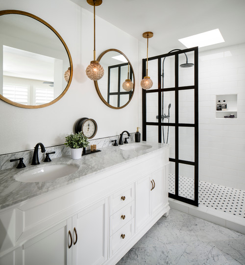 modern bathroom home improvement