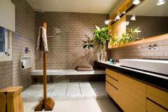 Más vale una imagen…: 9 duchas con banco de obra