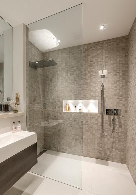 A Beautiful Basement Shower Room