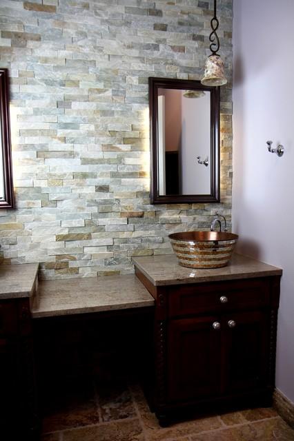 A Beautiful Hall Bathroom Traditional Bathroom Atlanta By Change Your Bathroom Inc