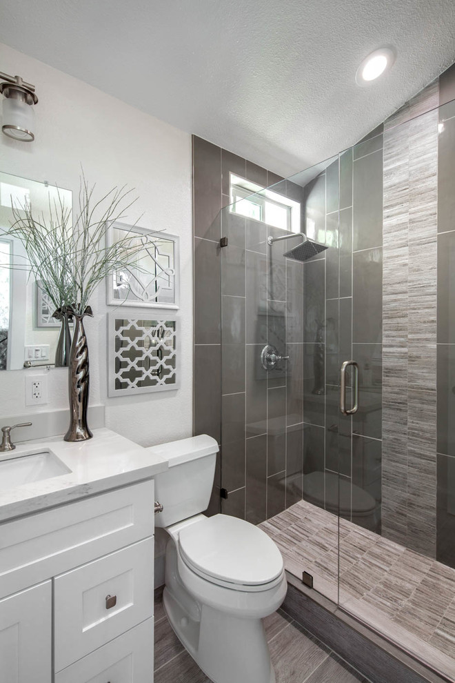 A Complete Home Remodel in San Jose - Craftsman - Bathroom ...
