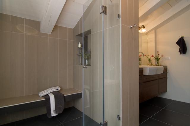 A COUNTRY HOME contemporary-bathroom