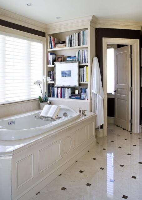 A Designer's Home traditional-bathroom