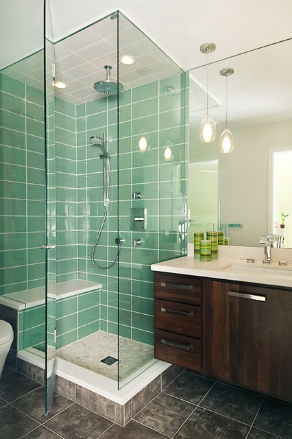 A Gorgeous Bath Space from Christopher's modern-bathroom