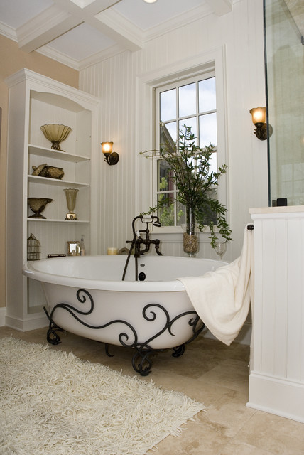 A Great Place to Pamper Yourself mediterranean-bathroom