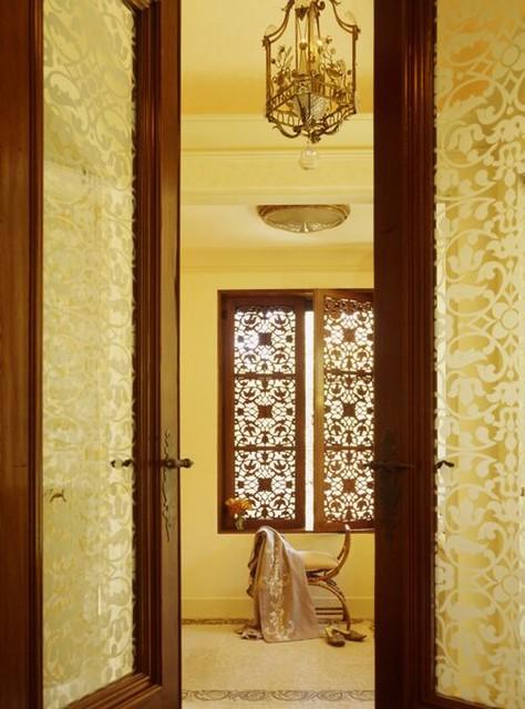 A Hillside Villa mediterranean-bathroom