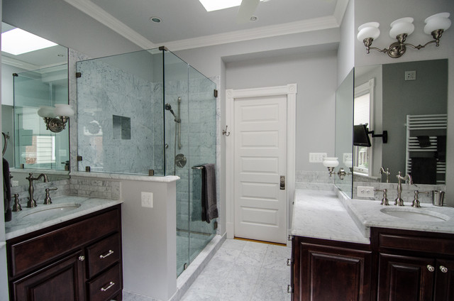 A historic dc row home renovation eastern market for Historic bathroom remodel